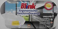 Губки для мытья посуды и нержавейки Blink ergonomischer geschirrschwamm 3 шт