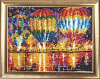 """Набор для вышивки бисером """"Воздушные шары"""" (по картине Л. Афремова)"""