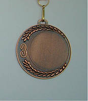 Медаль MD 39 bronze с лентой
