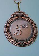 Медаль MD 43 bronze с лентой