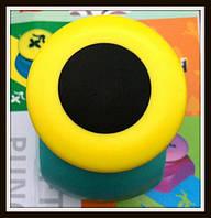 Дырокол фигурный Круг кнопка 2,5 см
