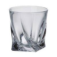 Набор стаканов для виски 340 мл 2 шт Bohemia Quadro b2k936-99A44