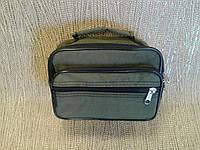 Мужская сумка цвета хаки повседневная. недорого