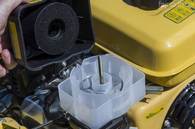 Воздушный фильтр на маслянной ванне/ мотоблок м-500 садко