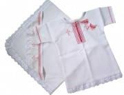 Крестильный набор для девочки, с вышивкой в украинском стиле