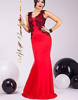Вечернее красное платье   Касия lzn