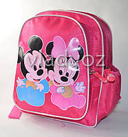 Детский рюкзак мики и мини маус розовый