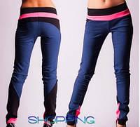 Модные женские цветные джинсовые леггинсы
