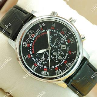 Кварцевые наручные часы Patek Philippe Geneve Silver/Black 1949