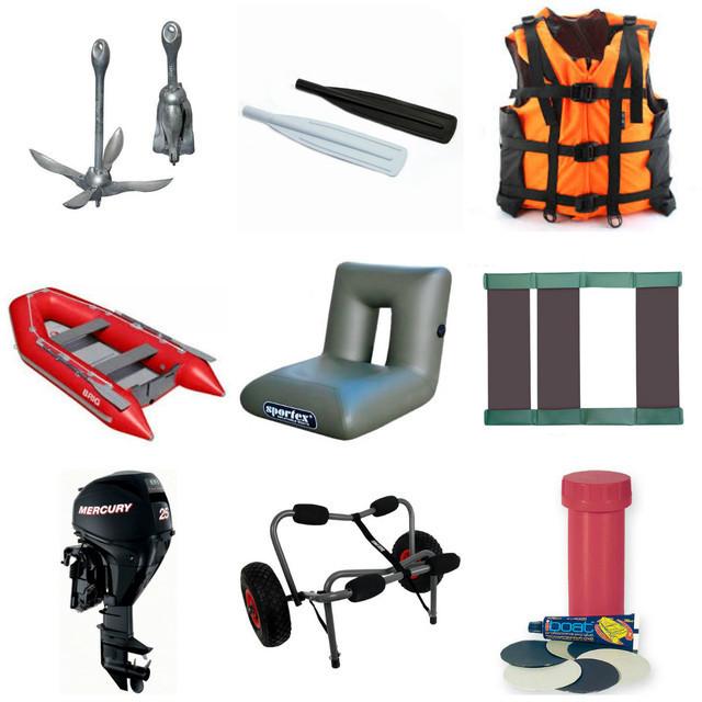 Надувные лодки и аксесуары