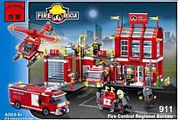 "Конструктор Brick 911 ""Пожарная охрана"