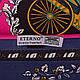 Яркий женский атласный платок размером 101*100 см ETERNO (ЭТЕРНО) ES0406-3-15, фото 2