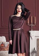 Стильное платье крашает аппликация из камней, фото 1