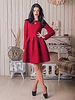 Платье Марсель имеет пышную юбку со складочками, которая отлично держит форму, фото 1