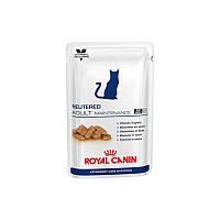 Royal Canin Neutered Adult Maintenance консерва для котов и кошек до 7 лет.Вес 100гр.