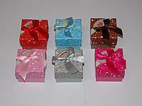 Подарочная коробка для украшений из картона