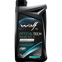 Моторное масло Wolf Officialtech MS-F 5W-30 1л