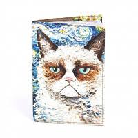 Обложка на паспорт Кот