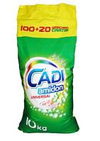 Стиральный порошок Cadi Amidon Universal 10кг 120 ст, Германия