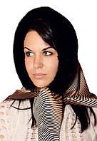 Стильный женский капор из норки цвет черный