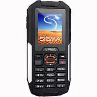 Новый защищенный мобильный телефон Sigma Х-treme IT68 Black