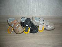 Кожаные босоножки (сандалии) для мальчиков Clibee размер 25
