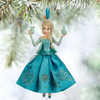 Ёлочная игрушка Эльза Дисней Disneys Frozen Elsa Sketchbook Christmas Tree Ornament