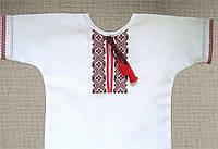Детская рубашка украшена  вышивкой в Украине и Киеве, по оптимальным ценам