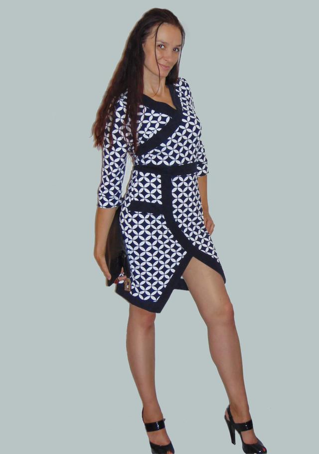 Фото Облегающего платья с рукавом 3/4 Руслана PlRlN346