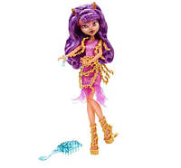 Кукла Monster High Haunted Getting Ghostly Clawdeen Wolf Doll