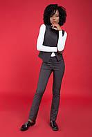 Женские классические теплые серые брюки от производителя