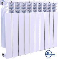Алюминиевый радиатор отопления 350/85 Alltermo. Алюмінієві радіатори опалення. Батареи отопления.