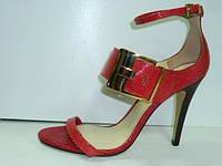 Модные босоножки на высоком каблуке Via uno 11036605