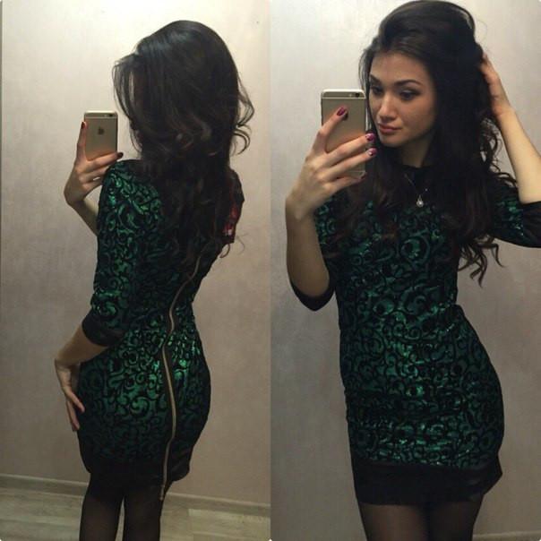 Жаккард и коктейльное платье
