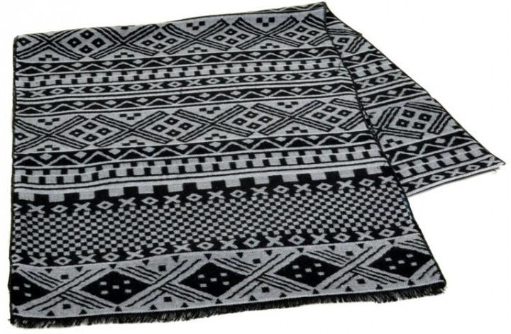 Оригинальный шерстяной мужской шарф 170 на 30 см 50146-14