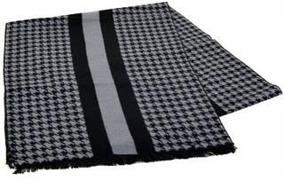 Необычный шерстяной мужской шарф 170 на 30 см 50146-16