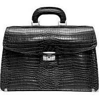 Женский портфель Manufatto ПД — 1 Black Croc