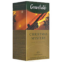 Чай в пакетиках черный Greenfield Christmas Mystery 25 п.