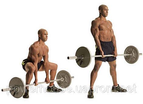 Как сделать становая тяга