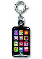 Charm It! Детский и подростковый. Подвеска.Кулон-Брелок I Phone. Сенсорный телефон
