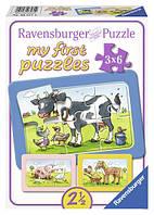 Пазлы 3в1 Хорошие друзья Ravensburger 06571R