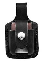 Чехол для зажигалки Zippo LPTBK черный с прорезью