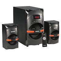 Аудио система 2.1. SA-365, black-orange