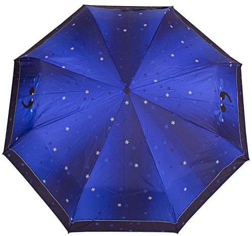Зонт женский компактный механический ZEST (ЗЕСТ) Z53516-2-10 Антиветер