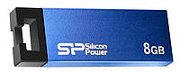 Флеш-накопитель USB Silicon Power Touch 835 8Gb Blue
