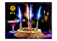 Тортовая Свеча Фонтан GF-3