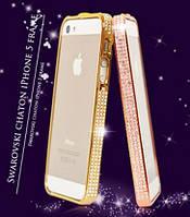 Бампер Swarovski для iPhone 5 5S