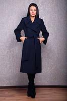 TM OZZE Пальто женское Д 38 Люкс темно-синее евро