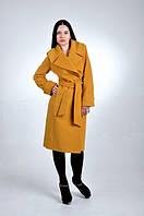 TM OZZE Пальто женское Д 38 Люкс желтое евро