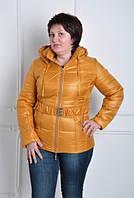 TM OZZE Куртка женская К 130 желтая OZZE